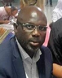 George Weah in 2016