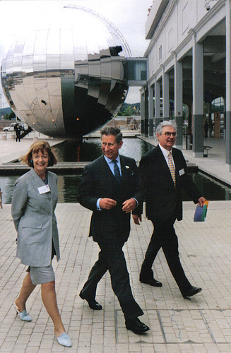 The Prince of Wales at the newly opened @Bristol, 14 June 2000 Prince Charles 2000.jpg