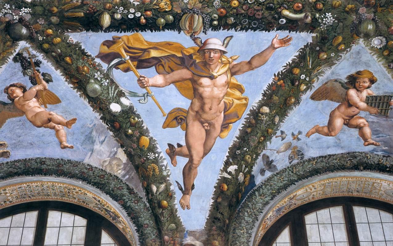 Raffael, Loggia di Psiche, Villa Farnesina, Rome 05.jpg