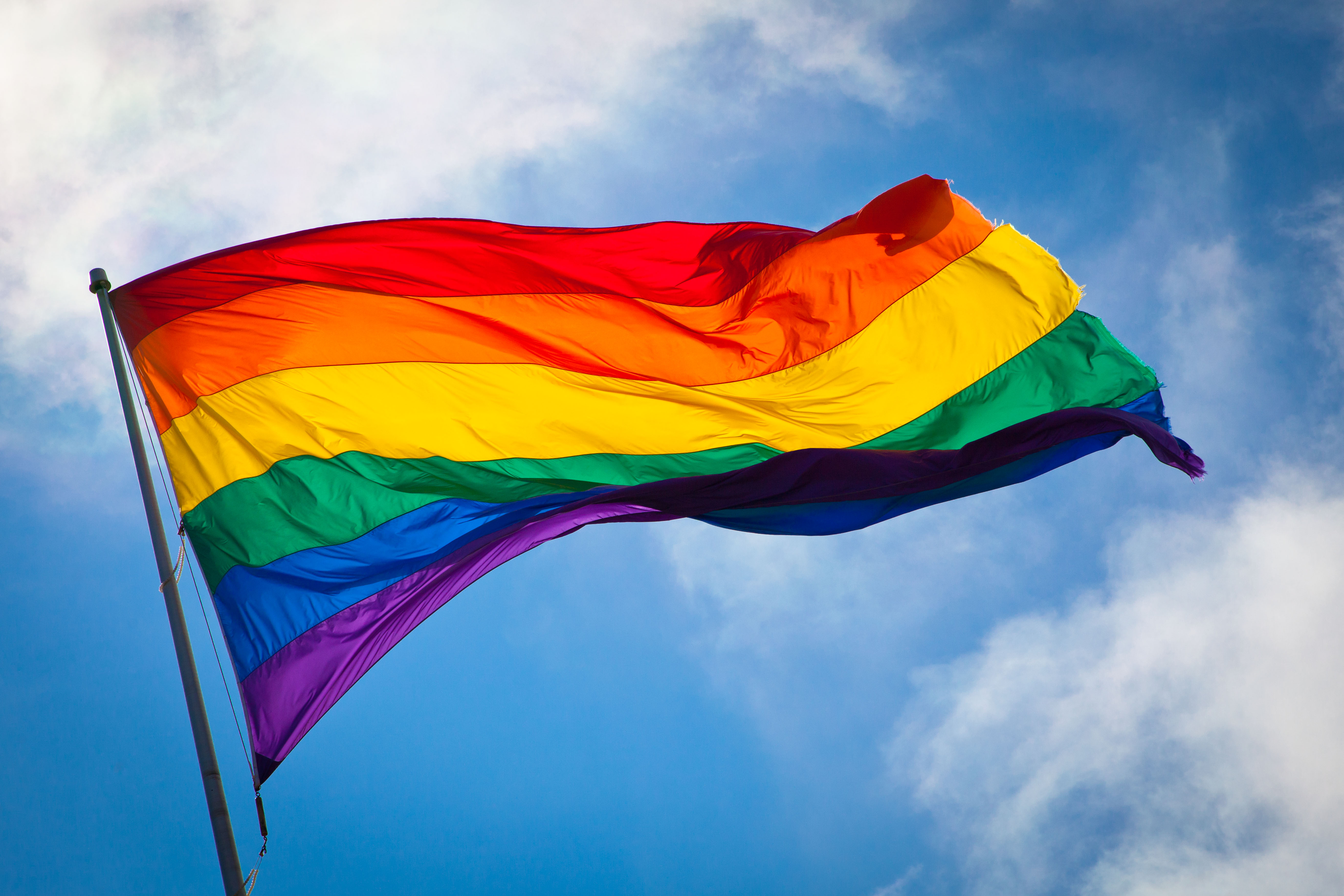 Show your colors at Pride this weekend! Image via Wikimedia Commons.
