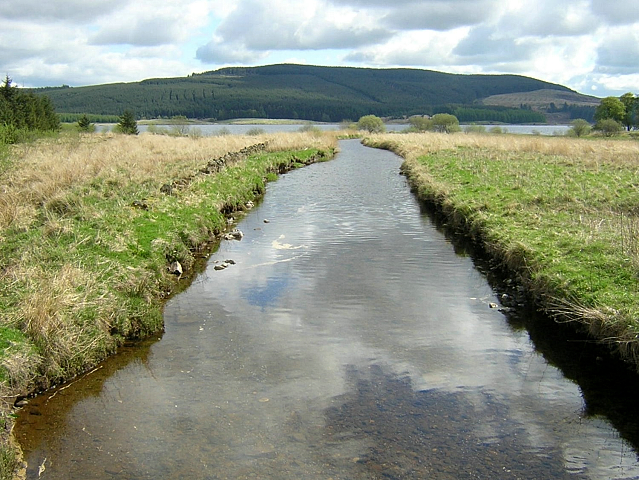 River Carron Flowing Towards Carron Valley Reservoir - geograph.org.uk - 171371