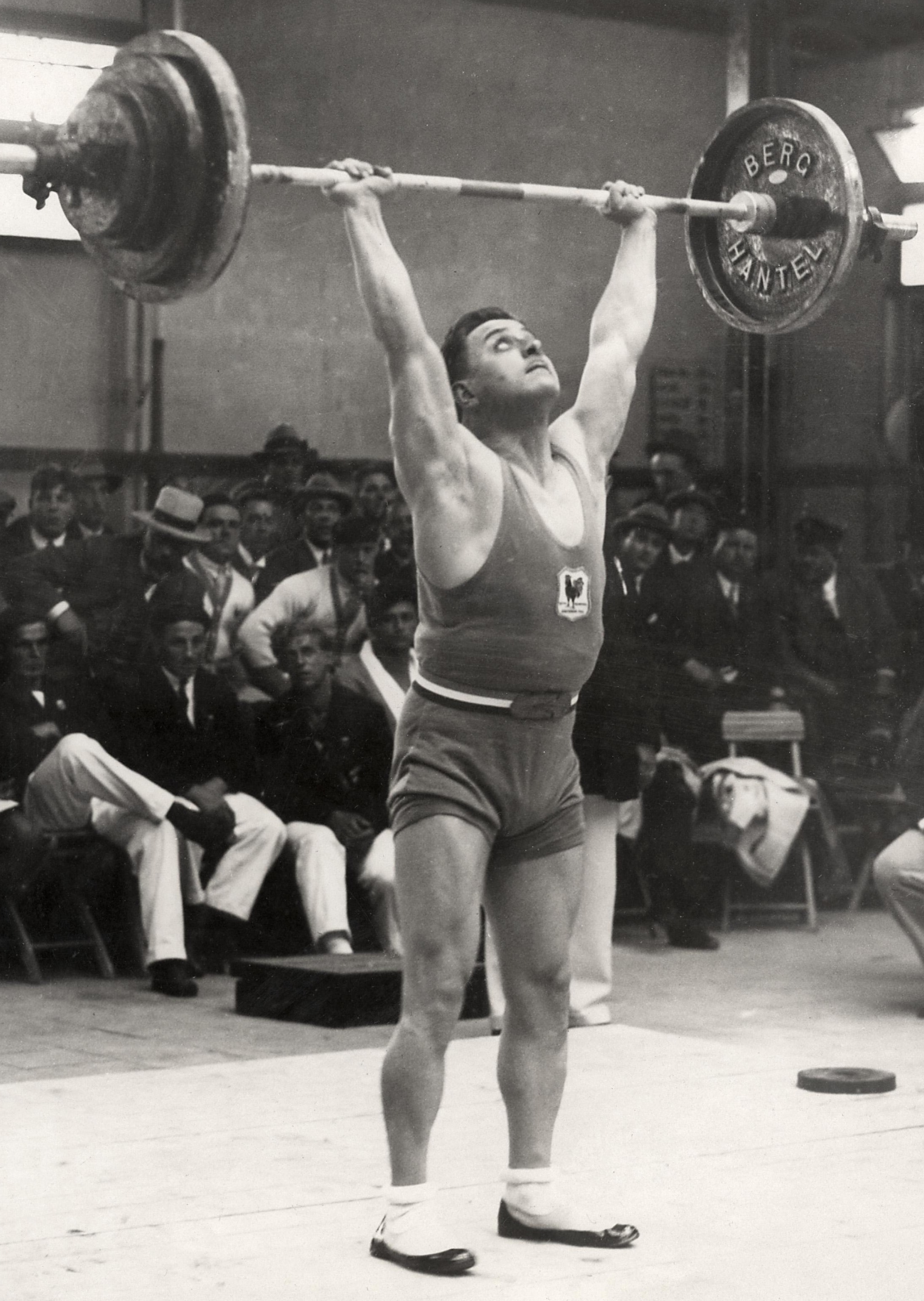Roger François at the 1928 Olympics