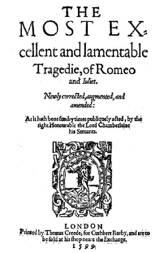 William Shakespeare  Romeo and Juliet  Britannicacom