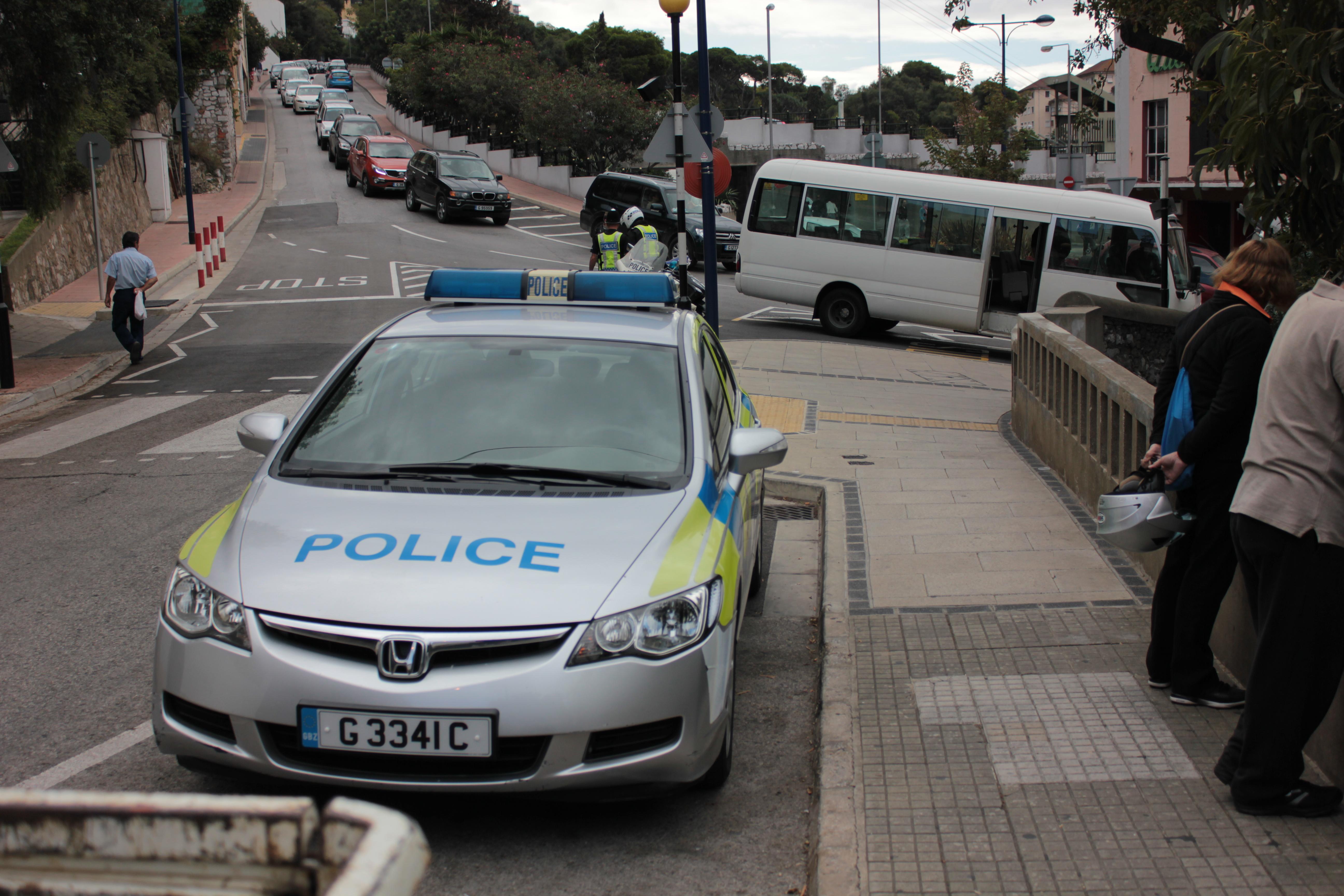 File Royal Gibraltar Police Honda Front 1 Jpg