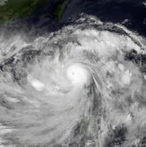 Typhoon Ruby (1988) Pacific typhoon in 1988