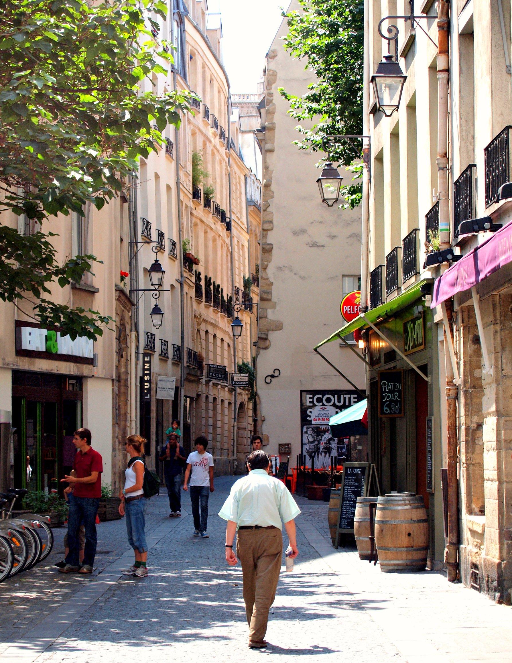 Rue Quincampoix Restaurant Rfaide