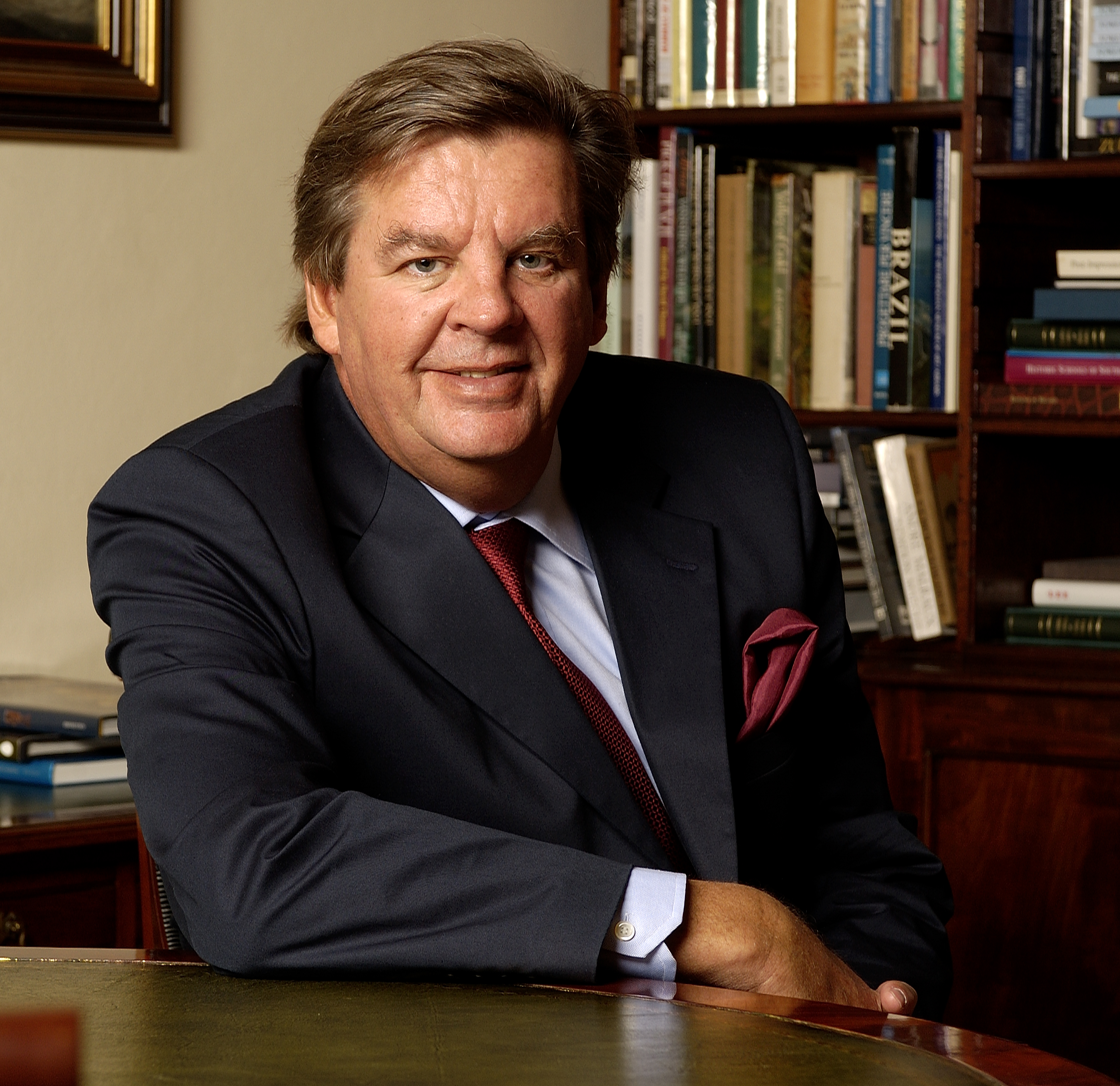 The 67-year old son of father Anton Rupert and mother Huberte, 175 cm tall Johann Rupert in 2017 photo