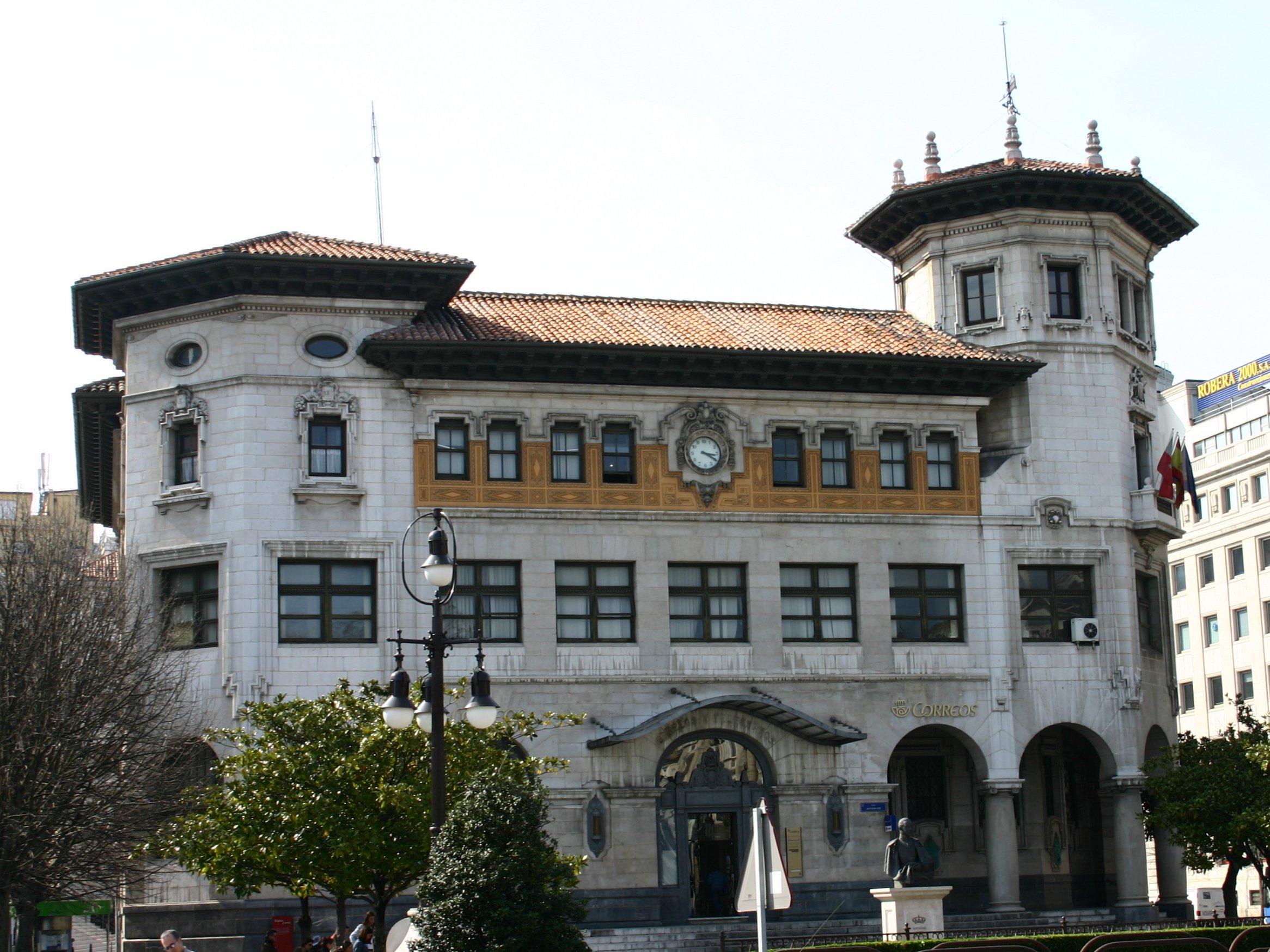 Delegación de Correos en Santander - Wikipedia, la enciclopedia libre