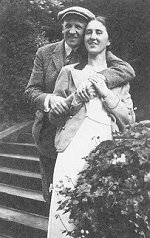 Schleicher with his wife Elisabeth in 1931.