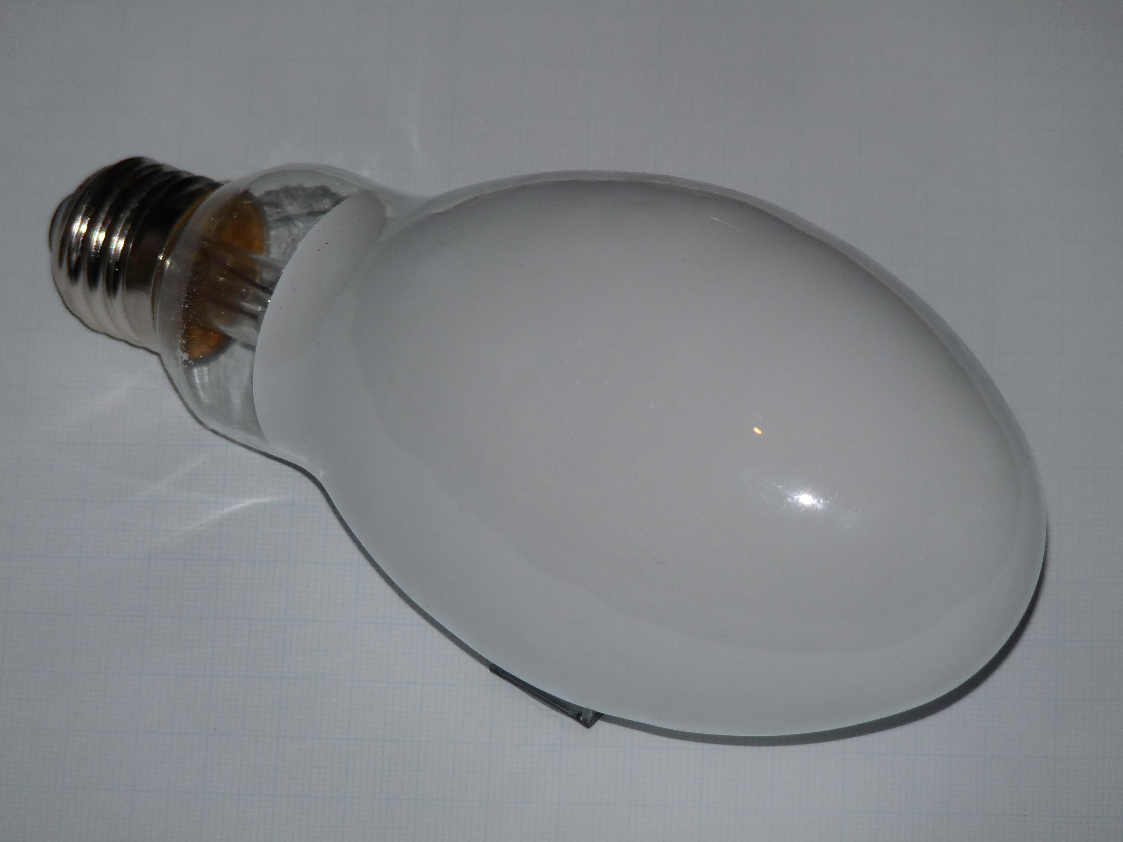 File:Self-ballasted mercury-vapor light bulb.JPG - Wikimedia Commons