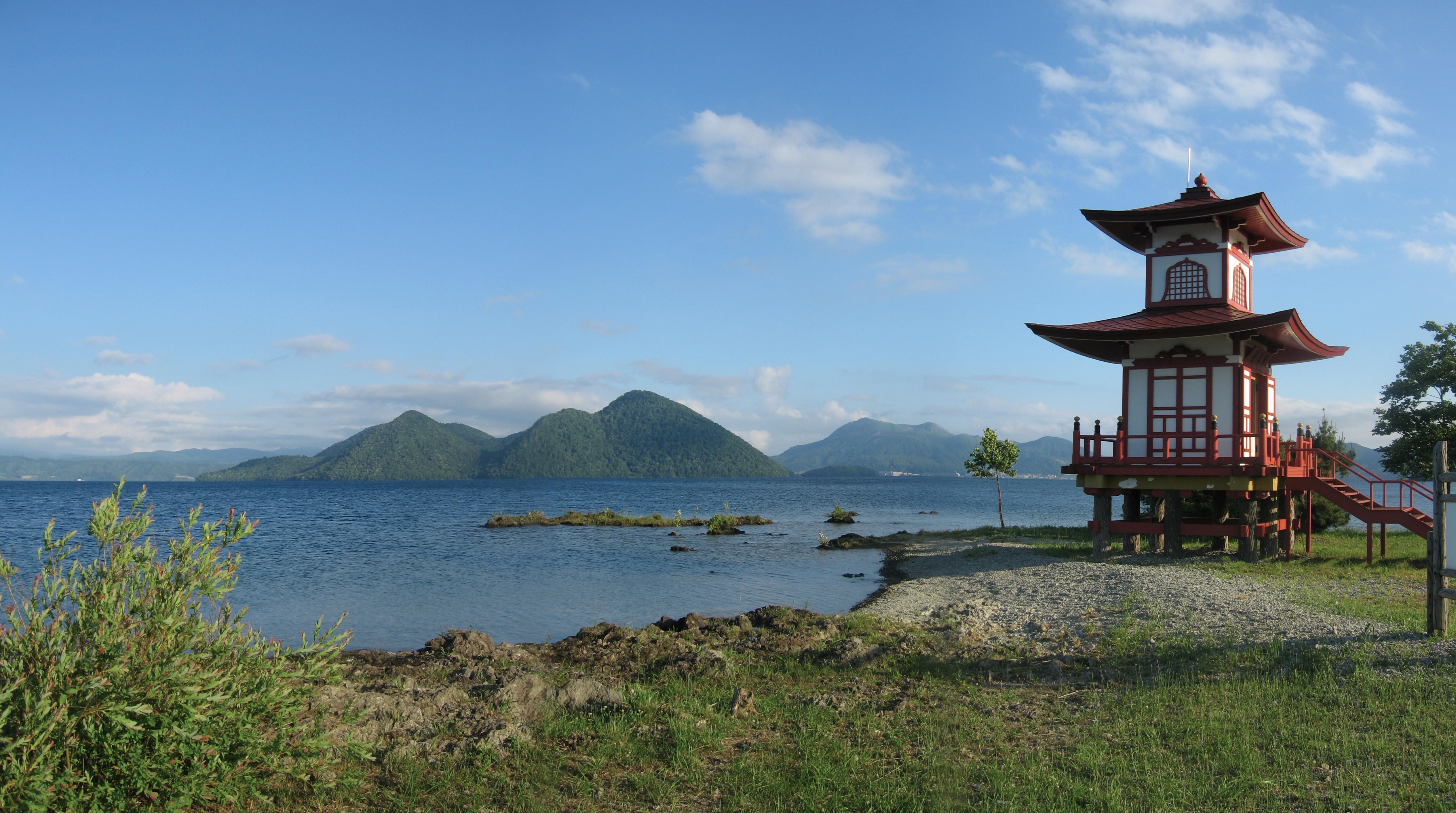 Shrine Toyako hokkaido Wikimedia Commons