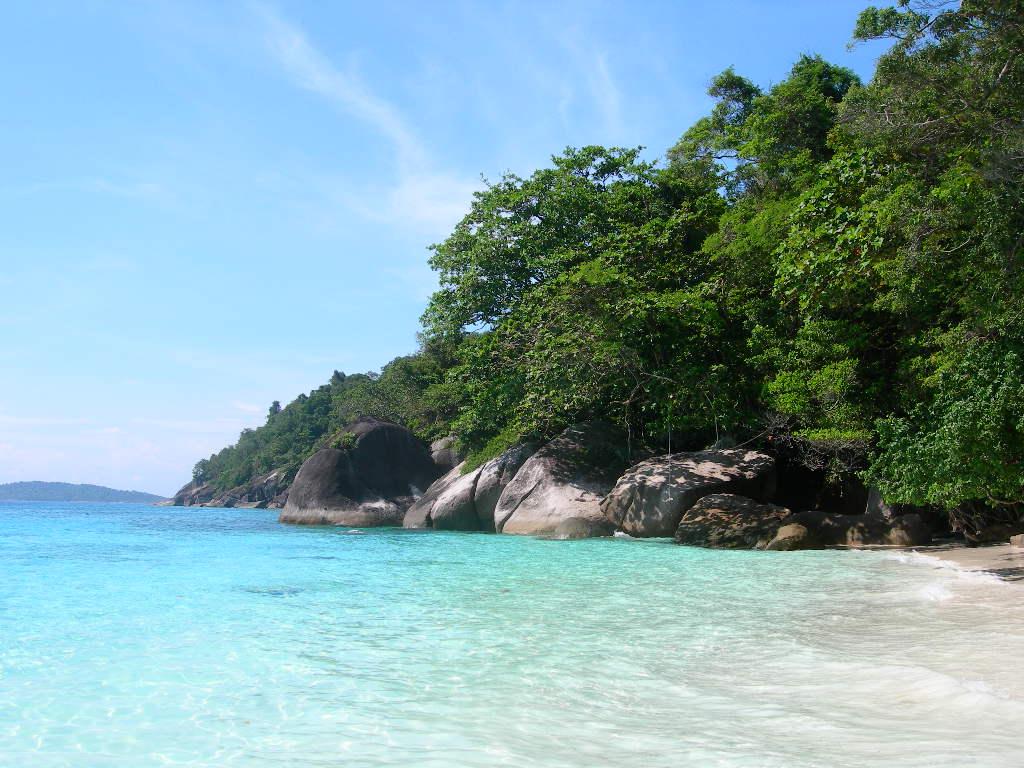 Koh Tachai Island Beach Thailand