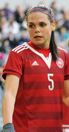 Danish Female Football Dressing Room Team Scandall