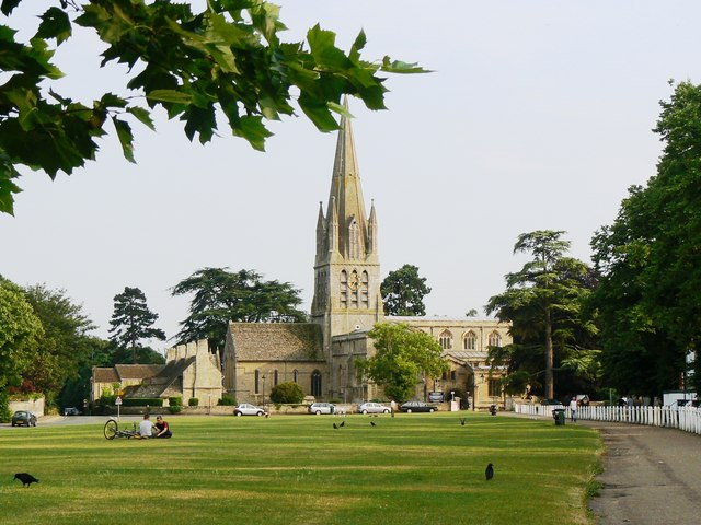 St Mary the Virgin Church, Church Green, Witney - geograph.org.uk - 247742