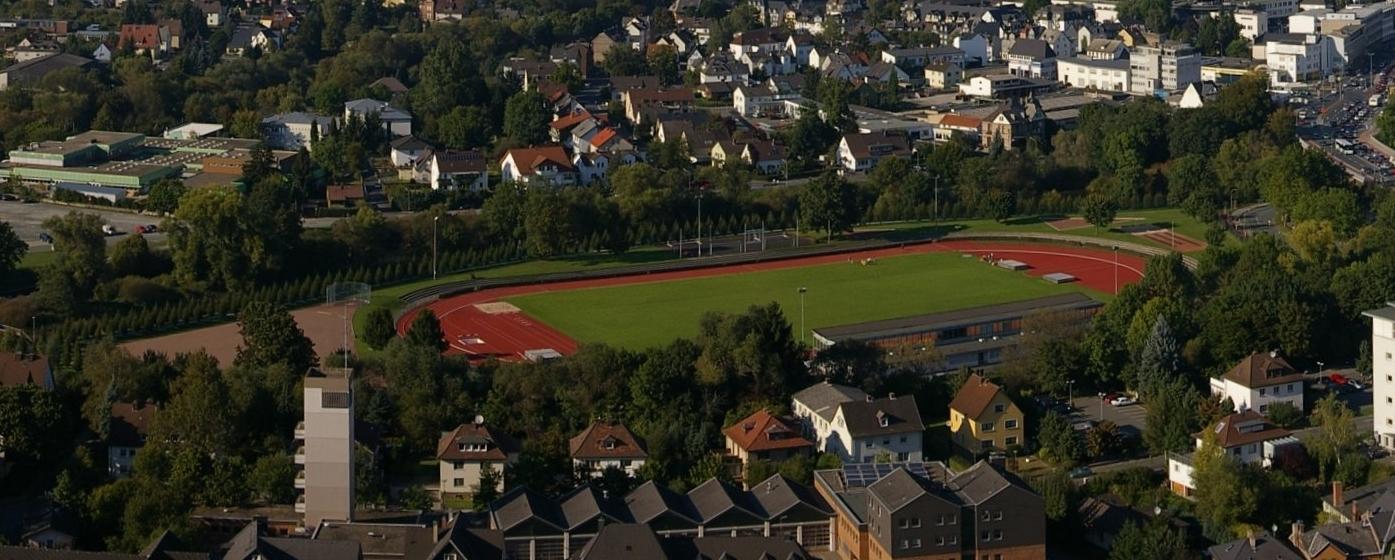 Stadion Wetzlar aus der Luft