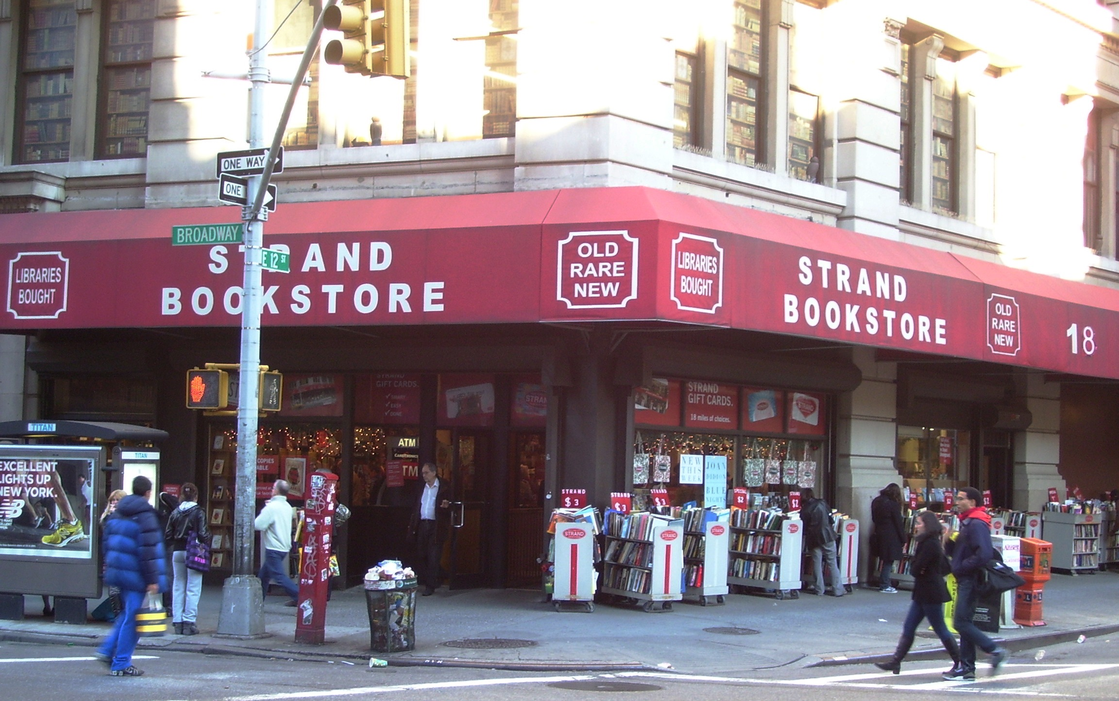New York City Bookstore Tests Employee Literature Knowledge
