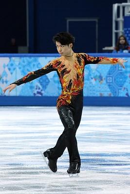 Tatsuki Machida at the 2014 Olympics FS