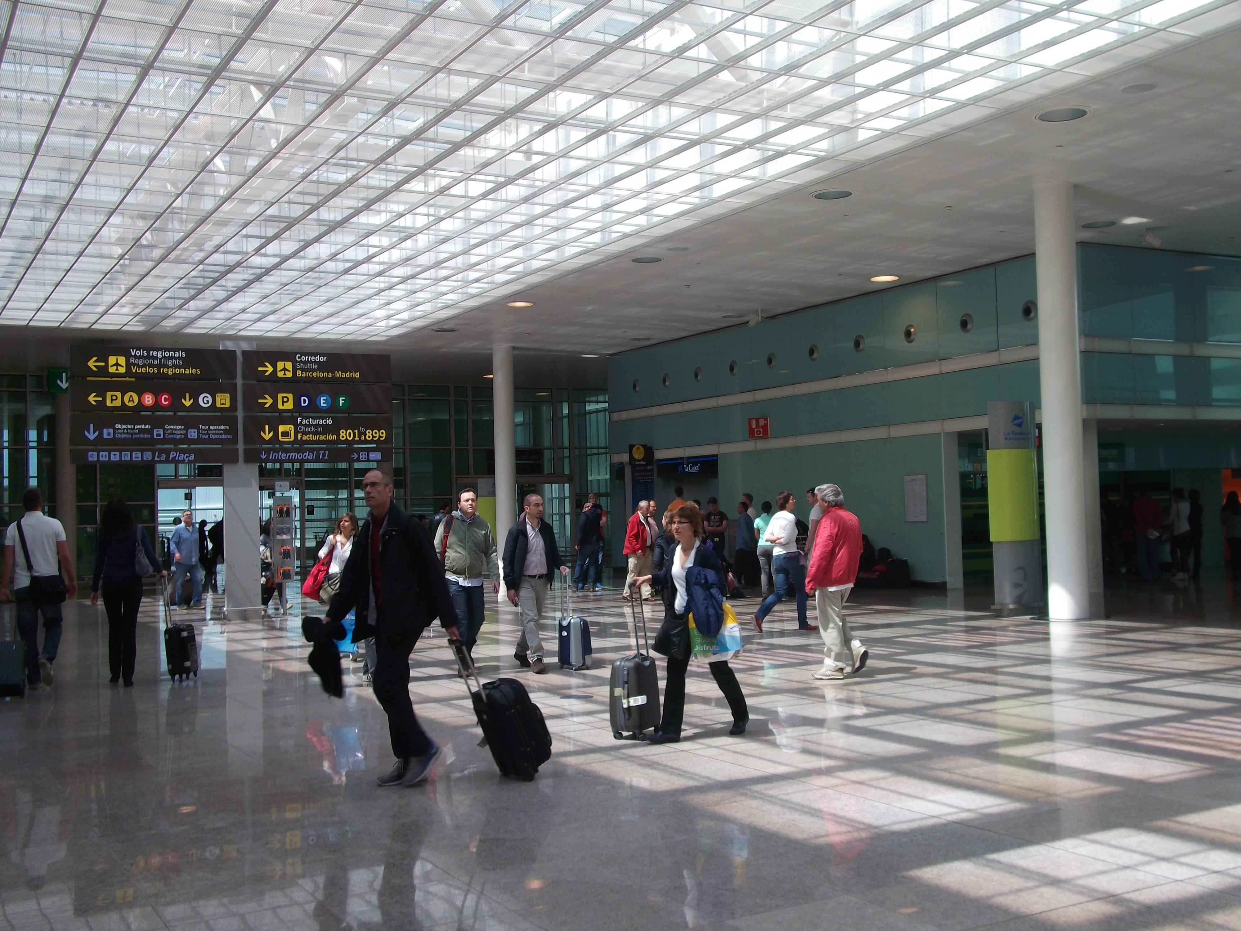 схема аэропорта барселоны эль прат