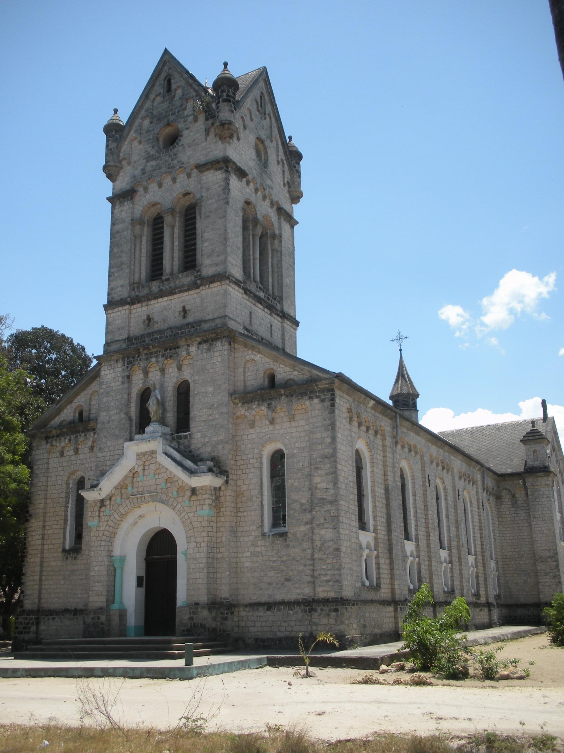 Bagamoyo Tanzania  city photo : The Old Church at Bagamoyo,Tanzania Wikimedia Commons