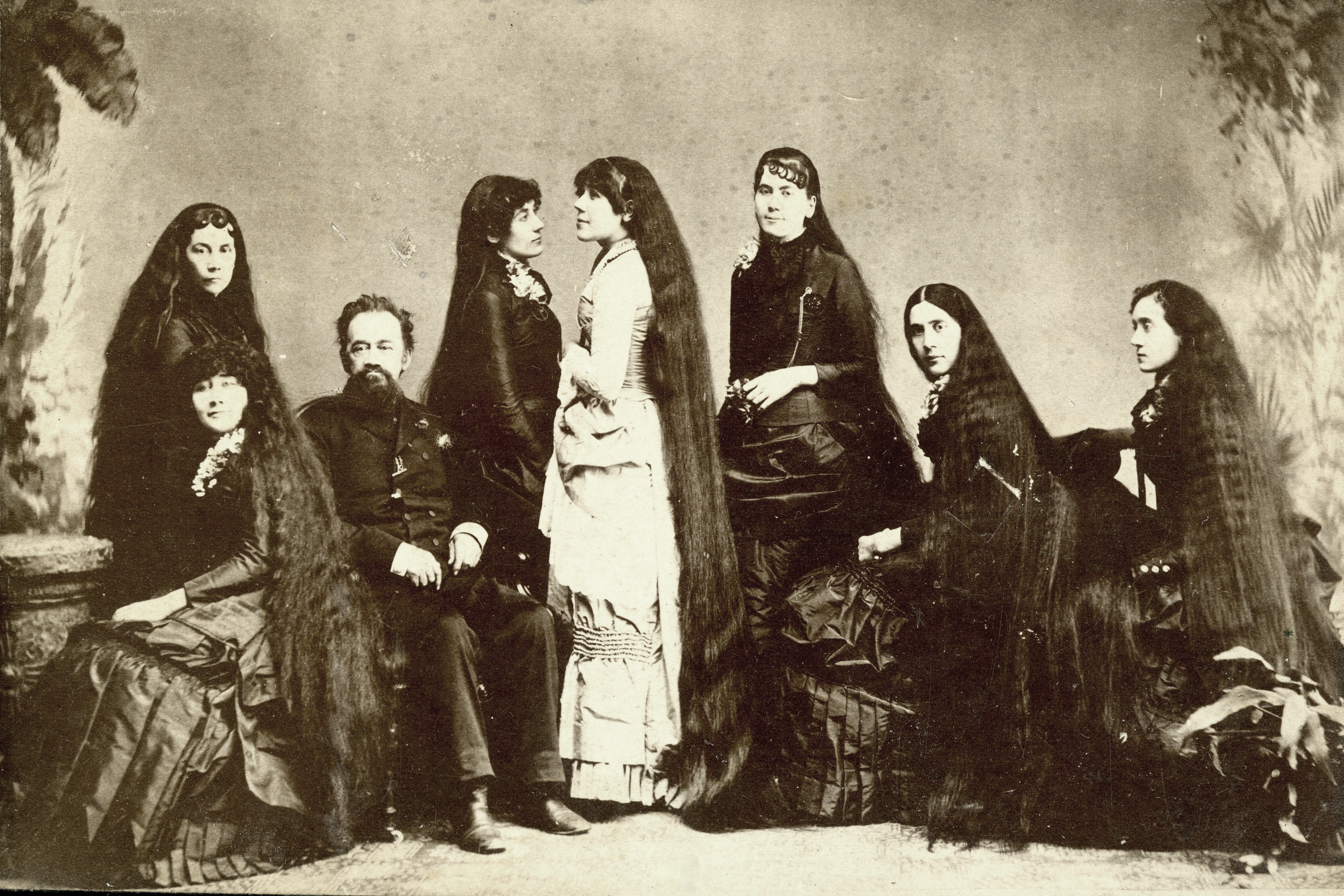 The Seven Sutherland Sisters