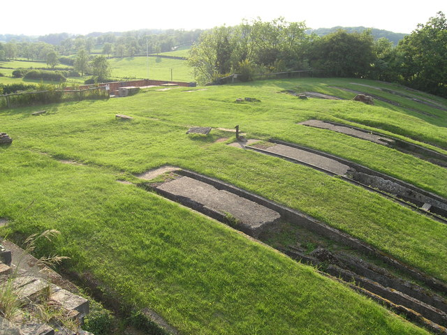 Top section of Inclined Plane at Foxton Locks - geograph.org.uk - 507458