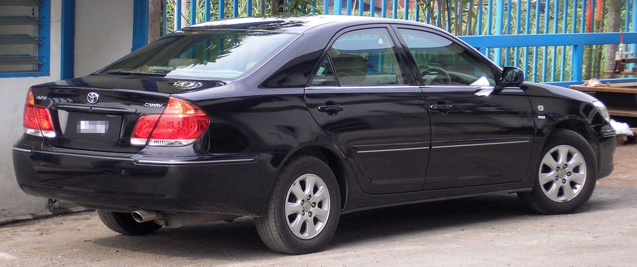 file toyota camry fifth generation first facelift rear kuala wikimedia commons. Black Bedroom Furniture Sets. Home Design Ideas