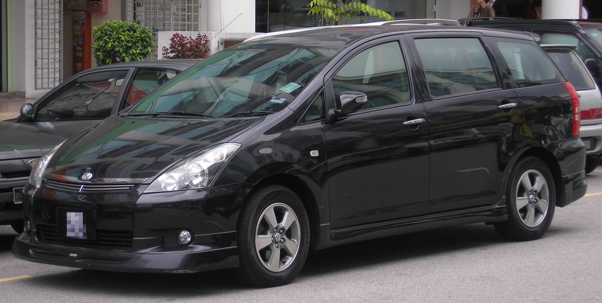 File toyota wish lx mode first generation front