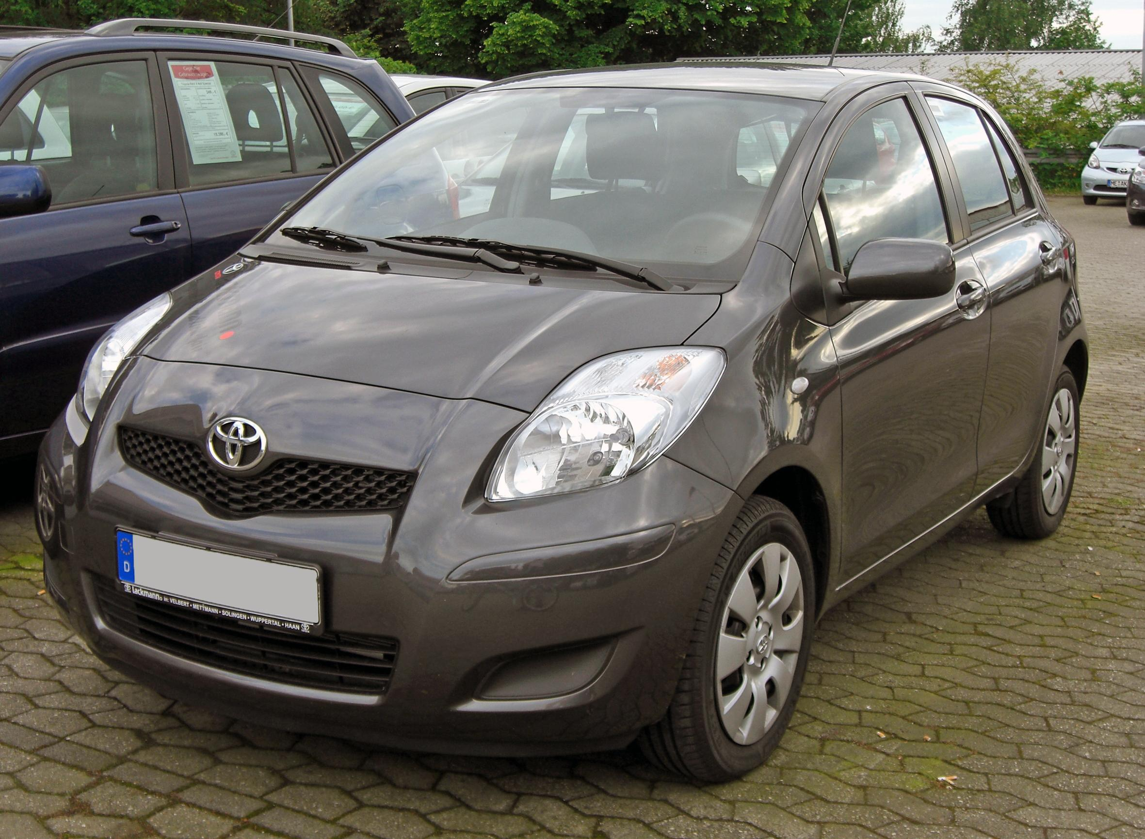 file toyota yaris ii facelift 20090517 front jpg. Black Bedroom Furniture Sets. Home Design Ideas