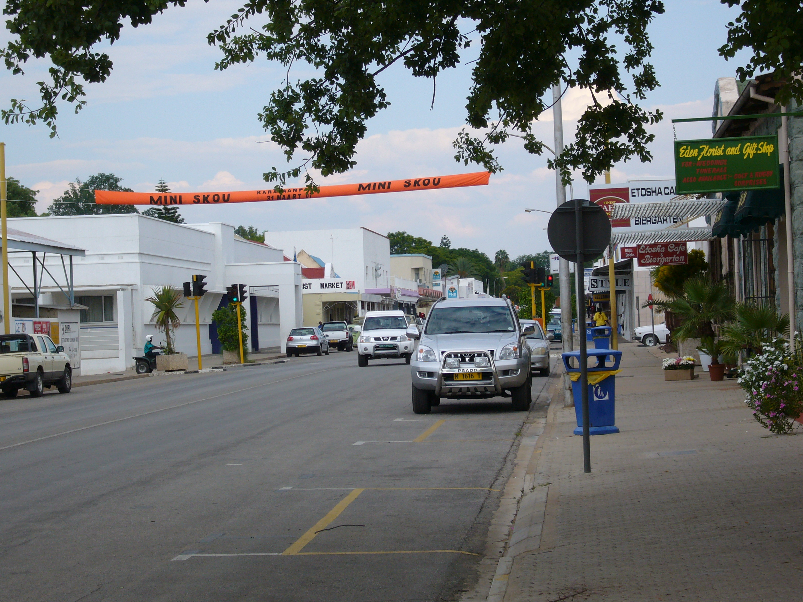 Tsumeb Main Road Wikipedia The Free Encyclopedia