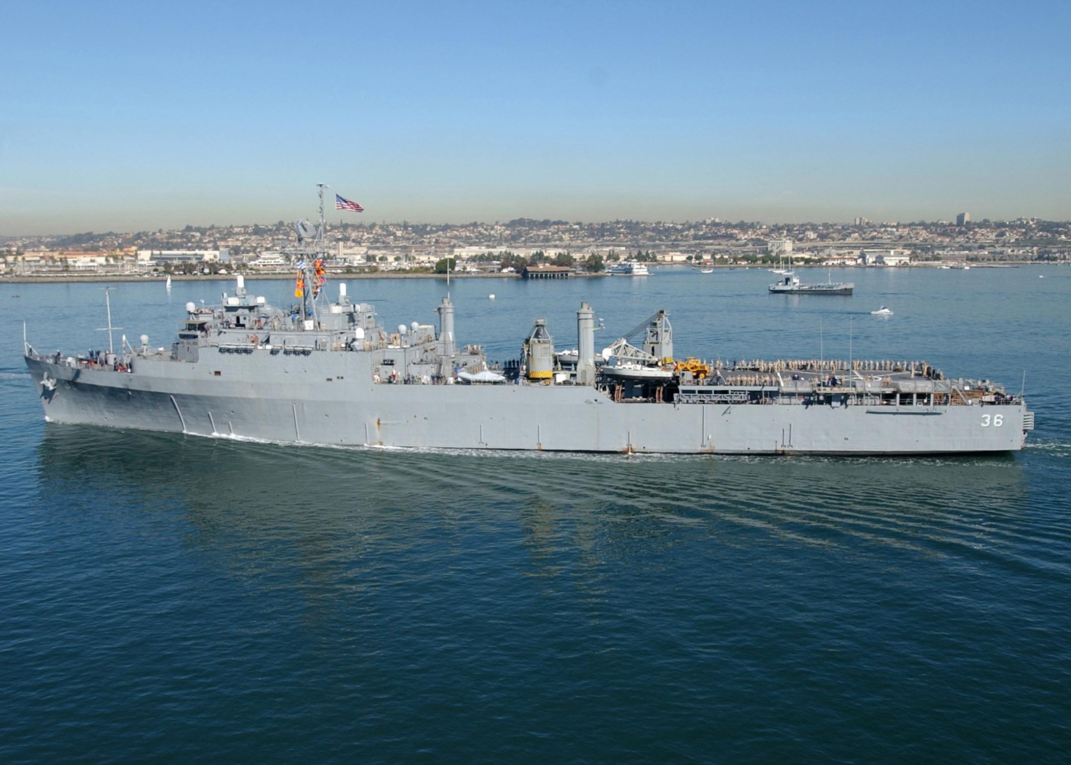 Anchorage-class dock landing ship   Military Wiki   FANDOM powered by Wikia