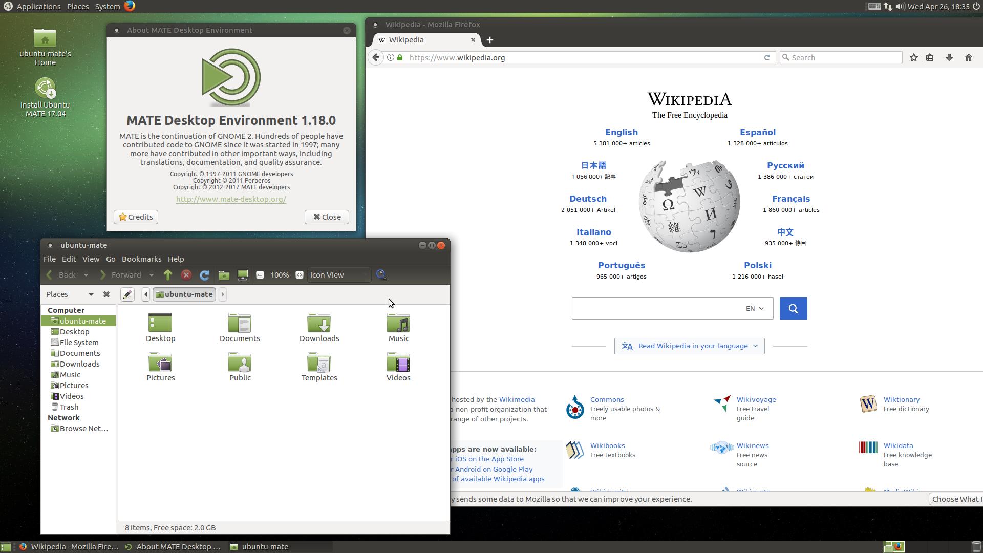 Ubuntu MATE - Wikipedia bahasa Indonesia, ensiklopedia bebas