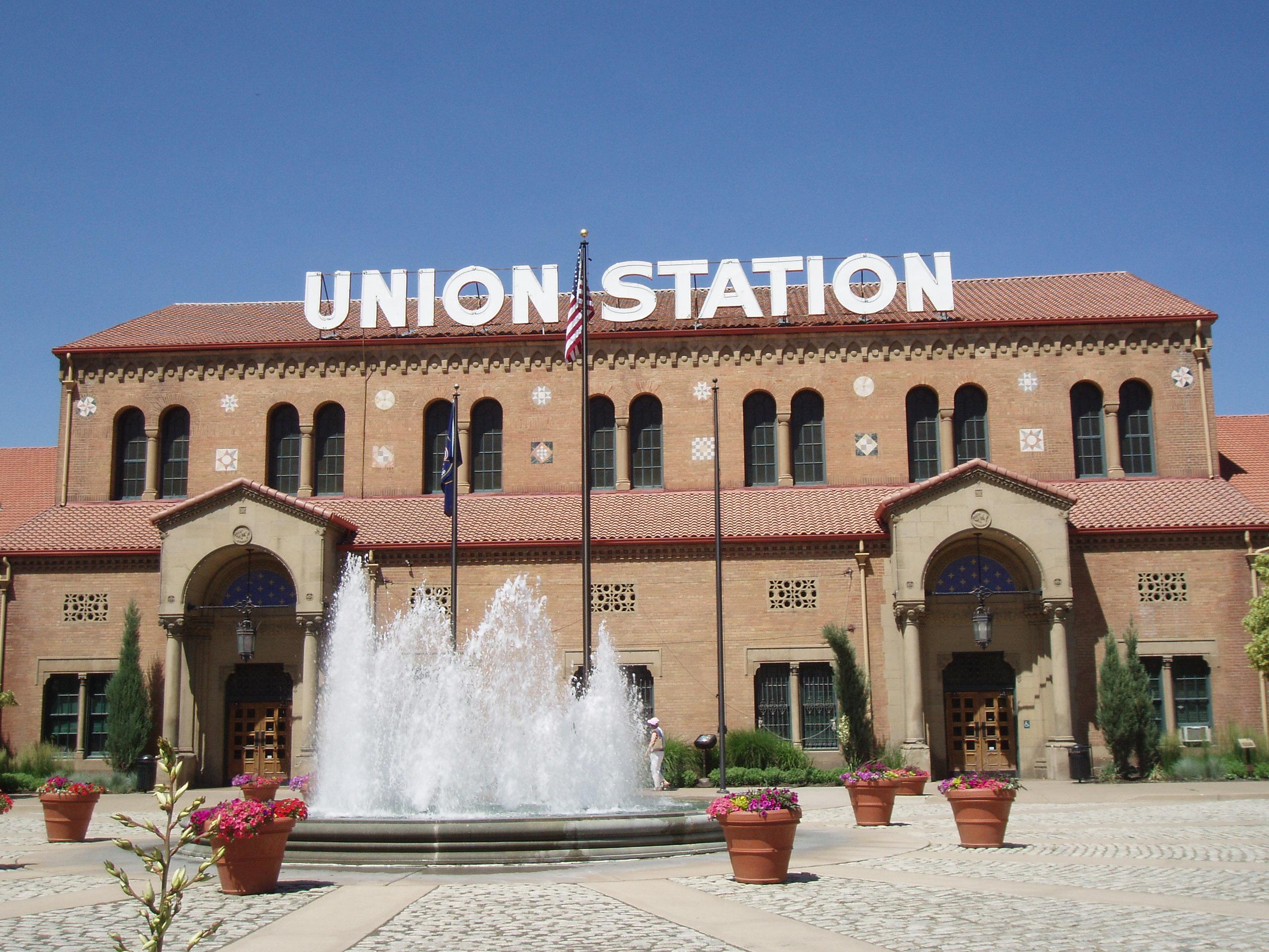 English: Union Station in Ogden, Utah.
