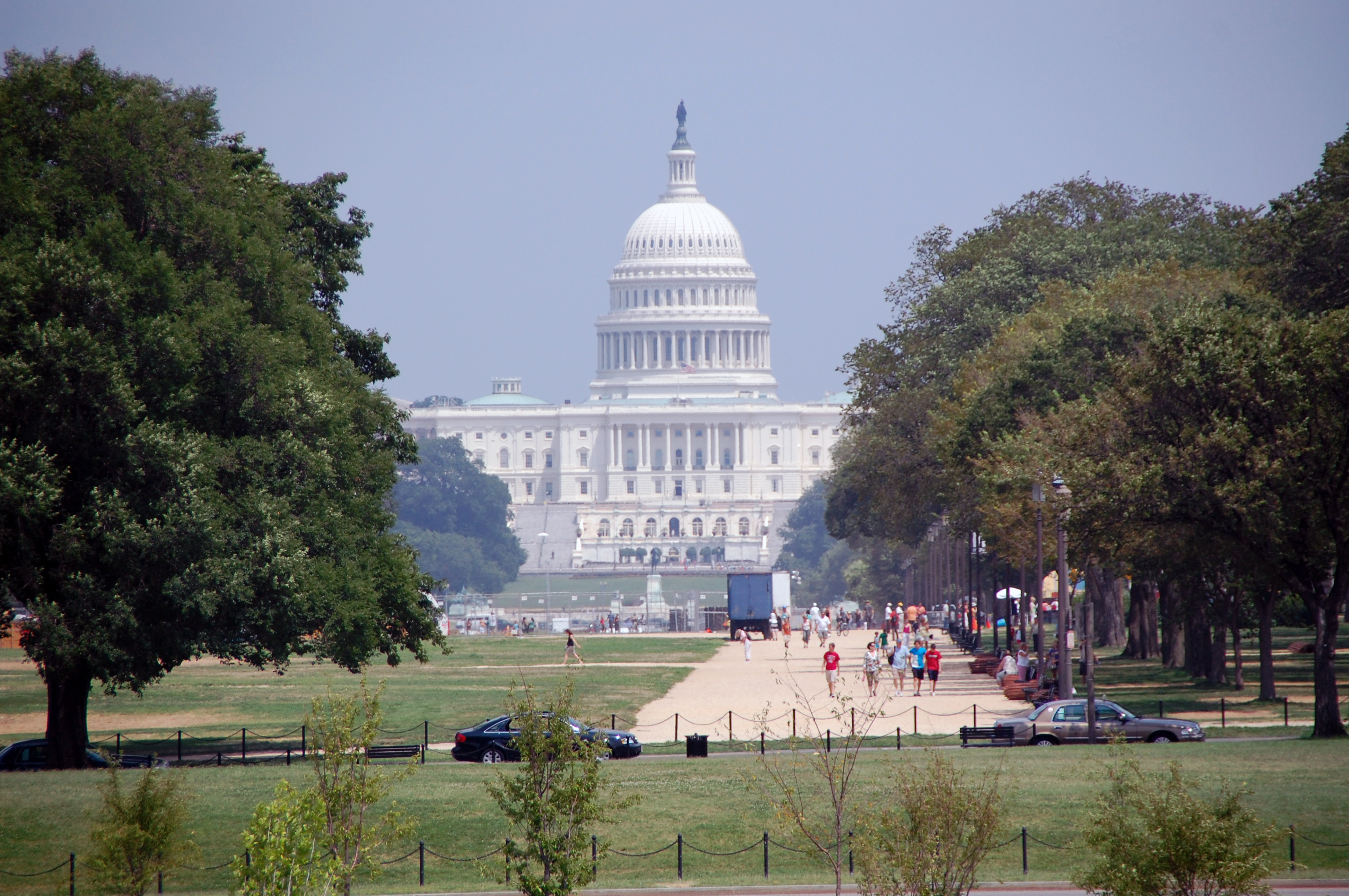 The US Capitol, serves as the seat of government for Congress