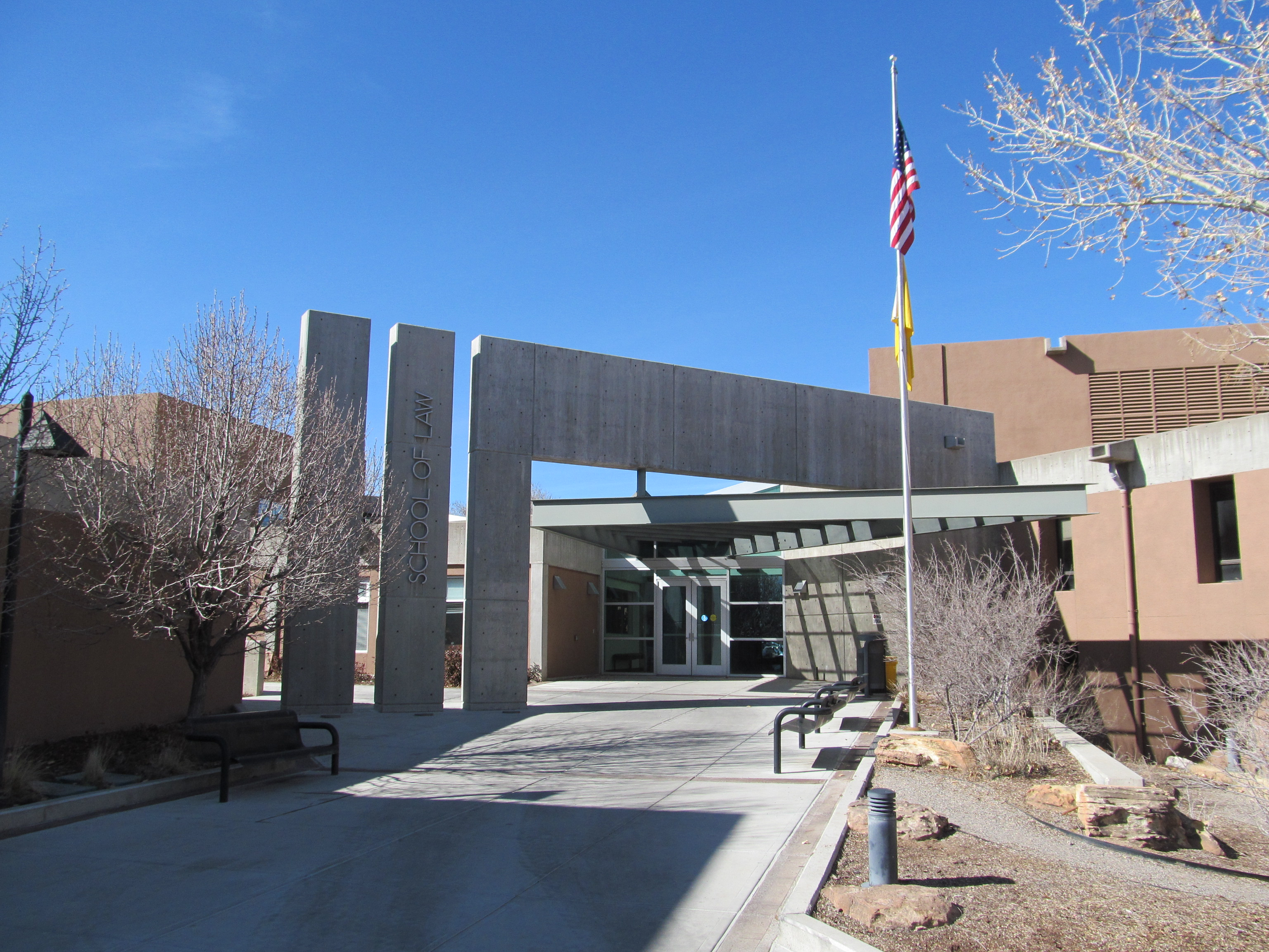 File:University of New Mexico School of Law, Albuquerque NM