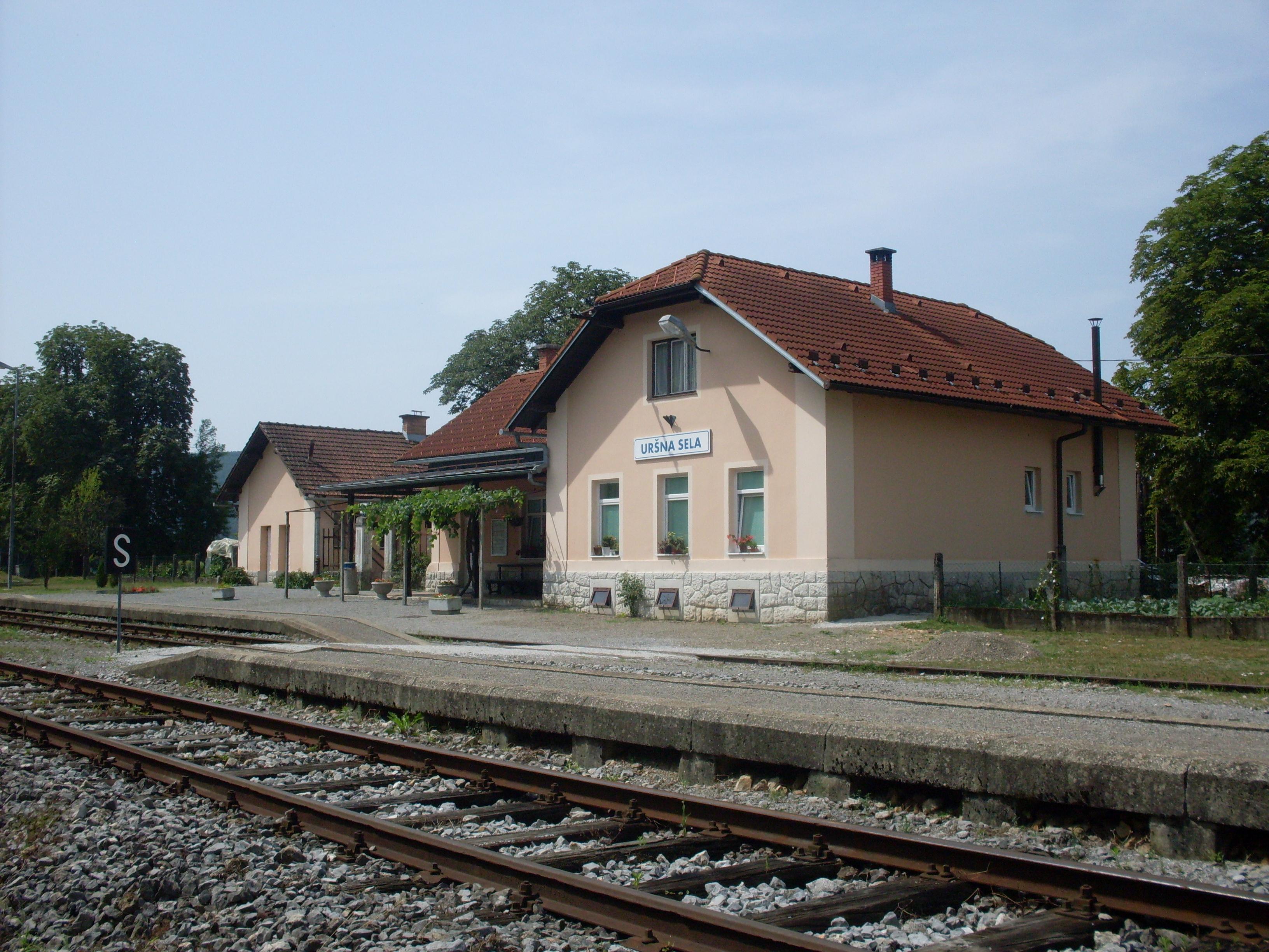 Železniška postaja Uršna sela