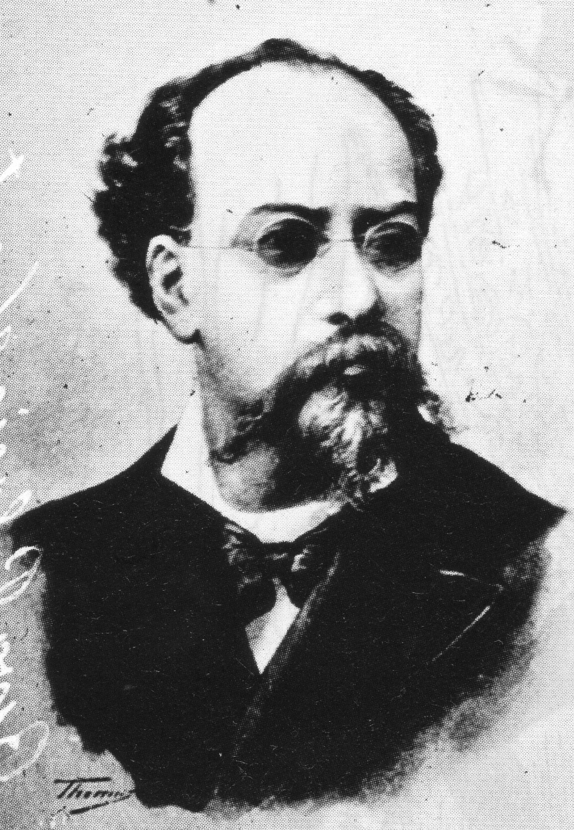 Depiction of Vicente Riva Palacio