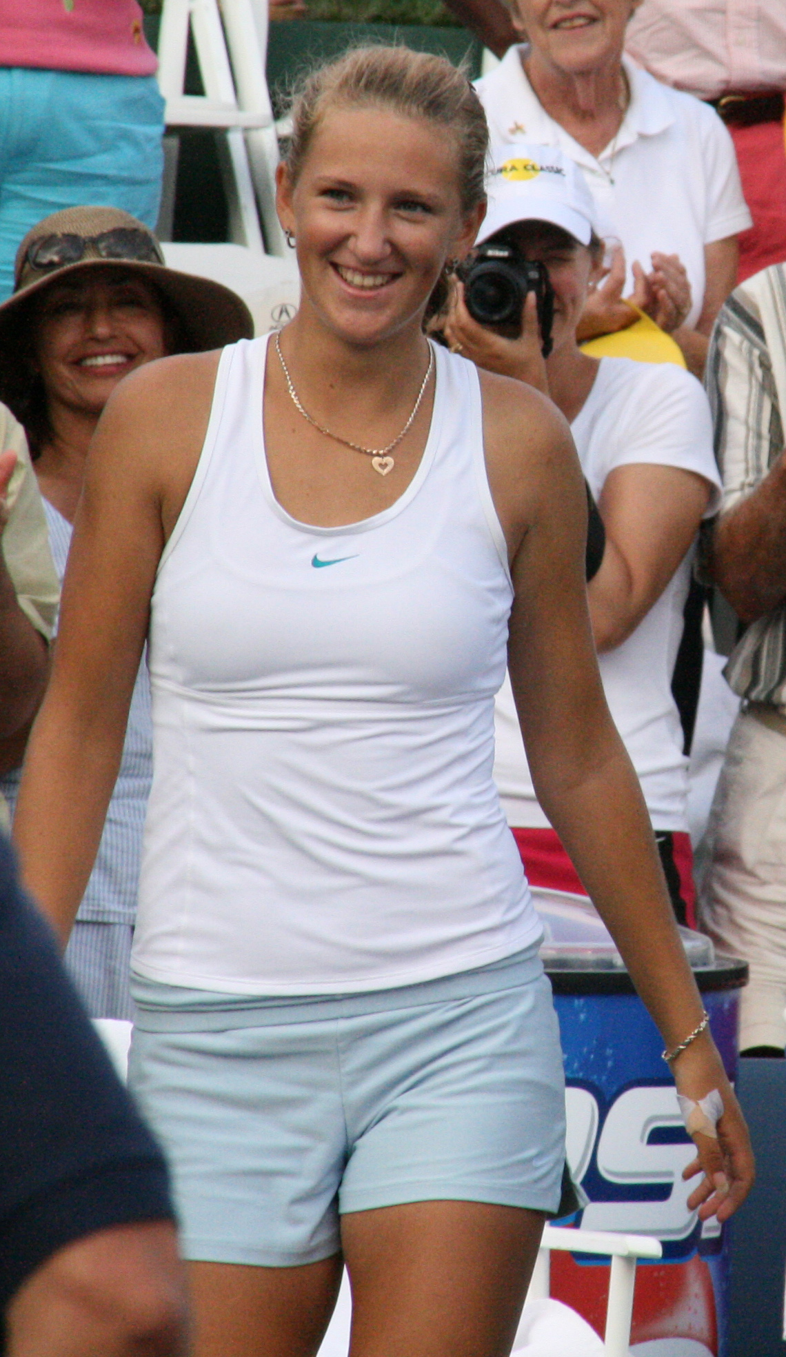 Sexy vika azarenka after ao win - 1 part 1