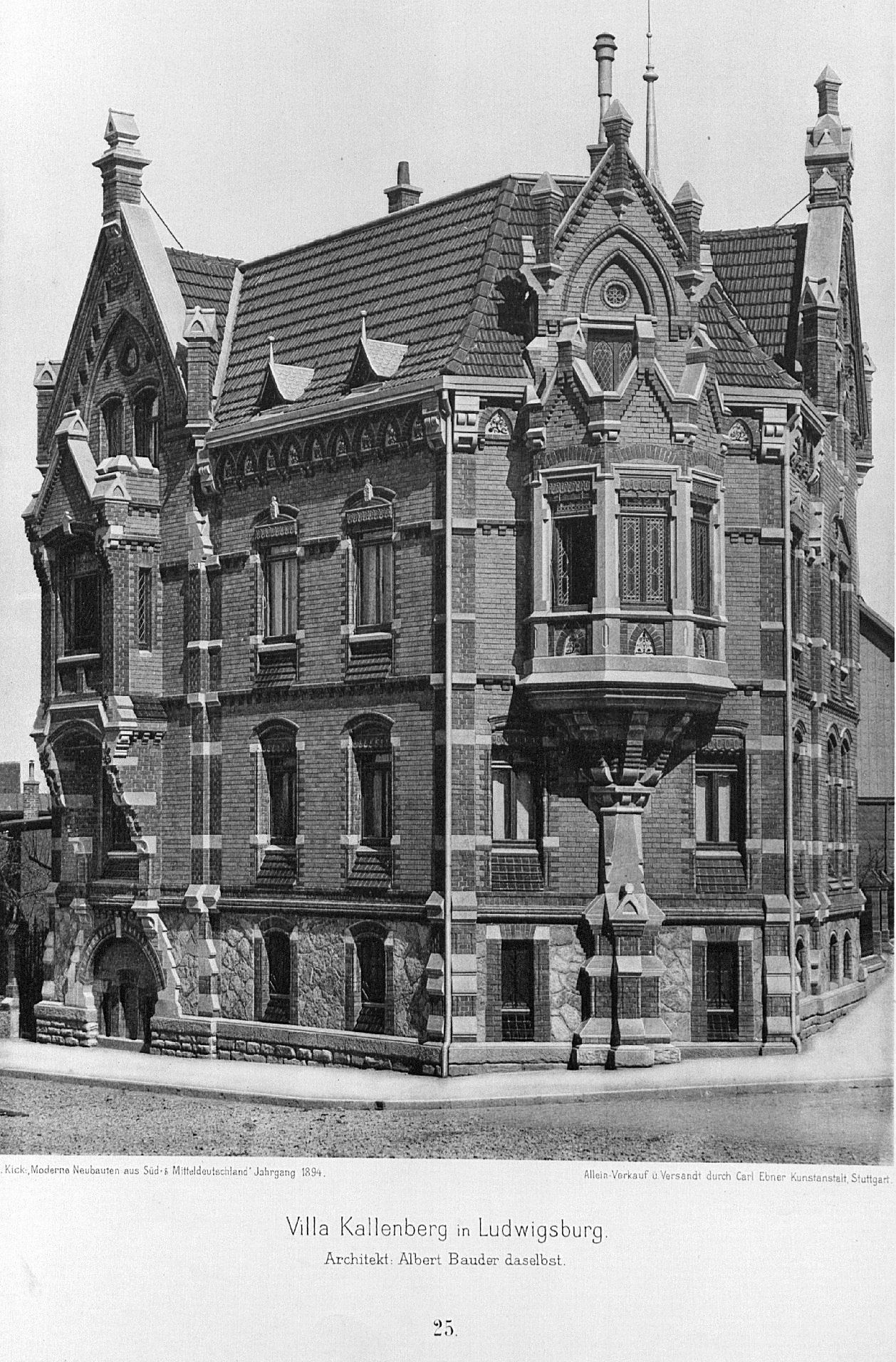 file villa kallenberg ludwigsburg architekt albert. Black Bedroom Furniture Sets. Home Design Ideas