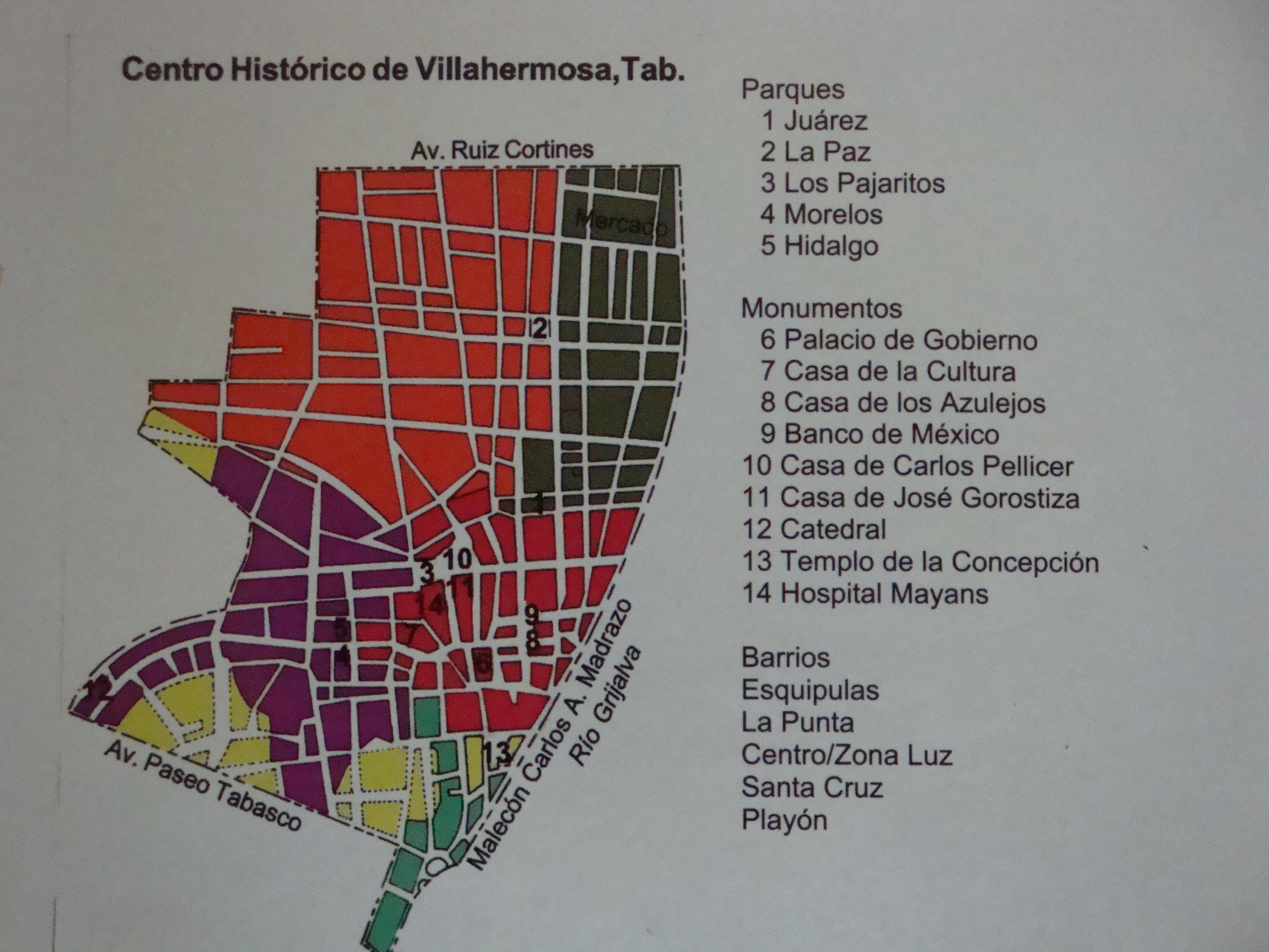 Mapa Y Ubicación Del Logo Azul Mapa Logotipo De: File:Villahermosa Mapa Centro Histórico.jpg
