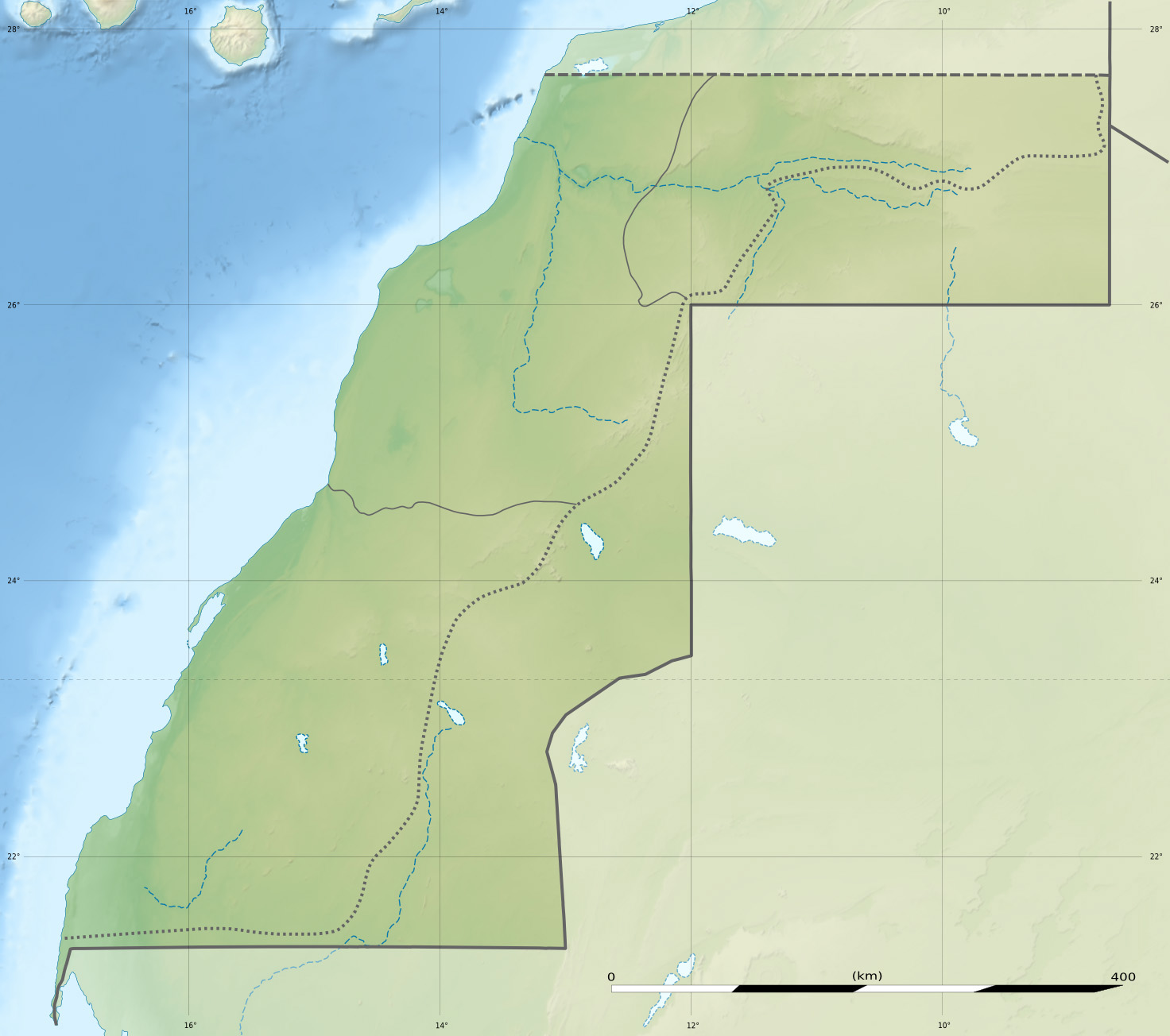 FileWestern Sahara relief location mapjpg Wikimedia Commons