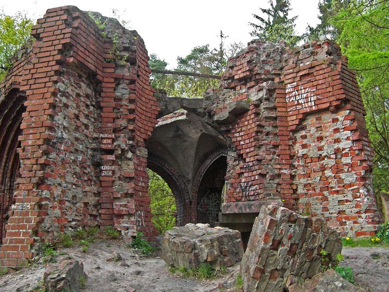 Wieza Quistorpa, ruiny - Szczecin