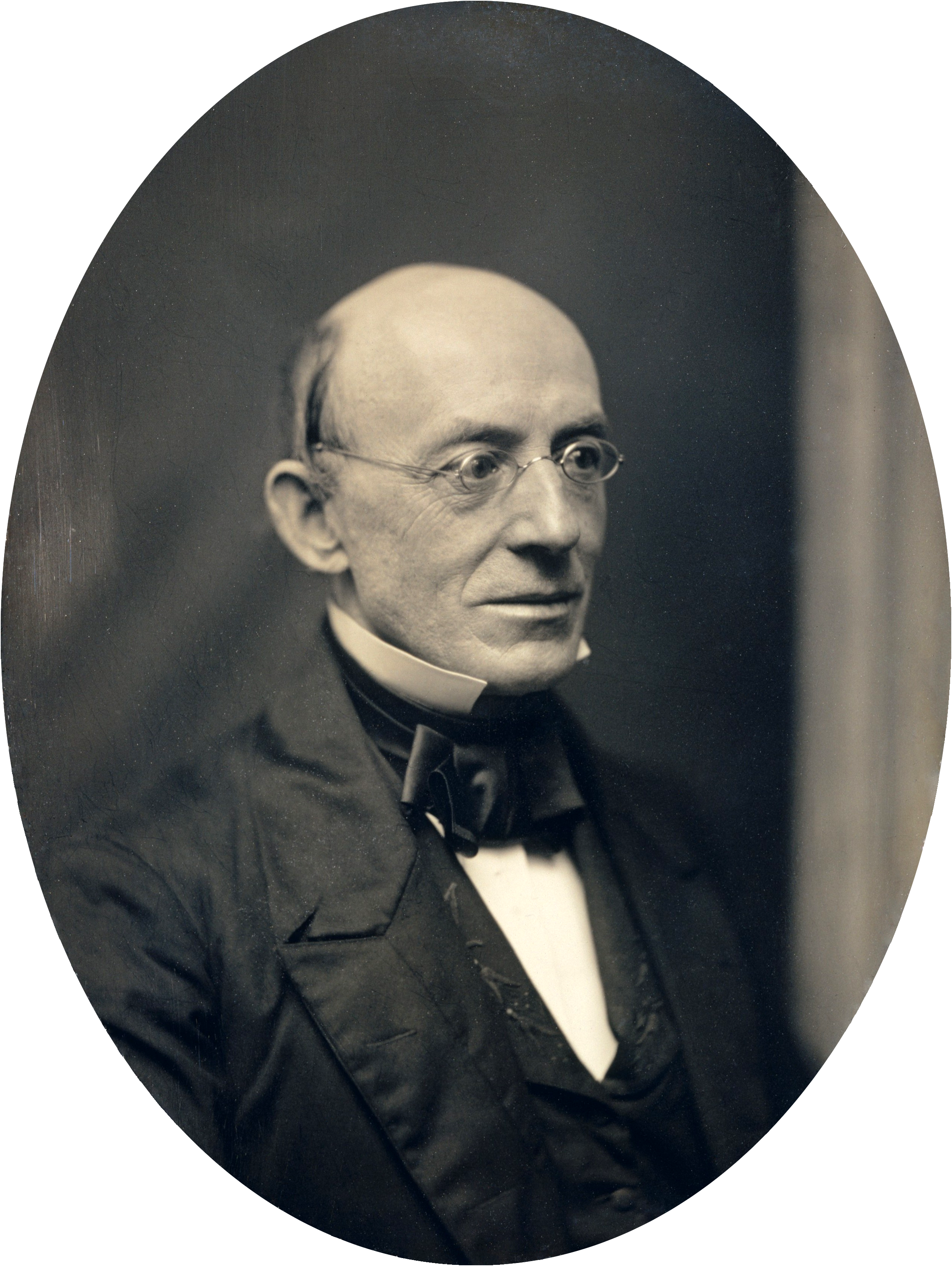 william lloyd garrisson At 55 years old, william lloyd garrison — president of the american anti-slavery  society and arguably the nation's most prominent abolitionist.