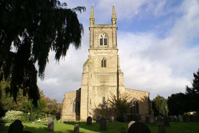 Wycliffe's Church of St Mary's Lutterworth - geograph.org.uk - 346098