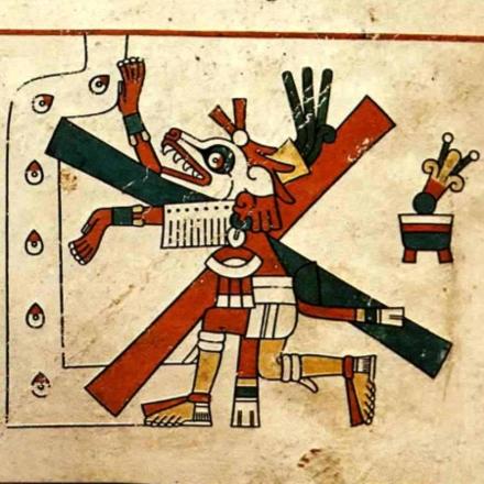 Xolotl from codex Fejervary-Mayer