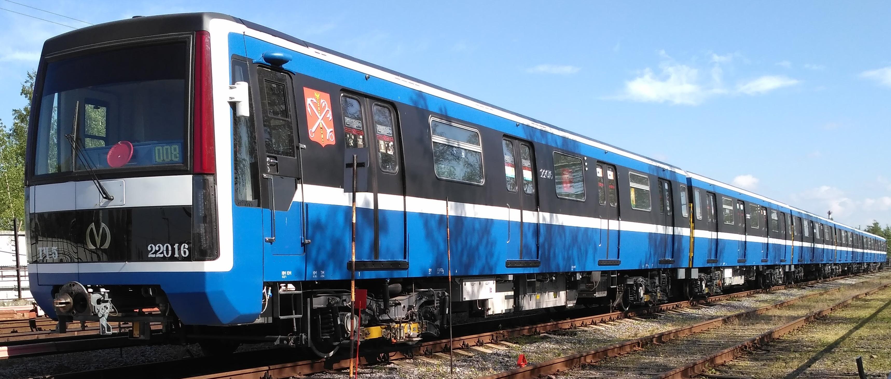 цветовая схема окраски вагонов петербургского метро