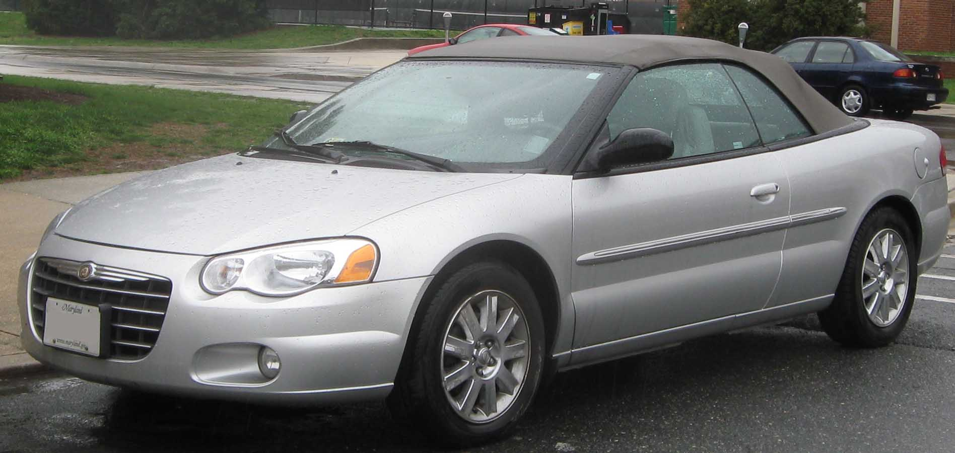 Convertible chrysler sebring 2005