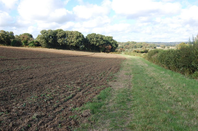 1066 Country Walk and Field - geograph.org.uk - 934832