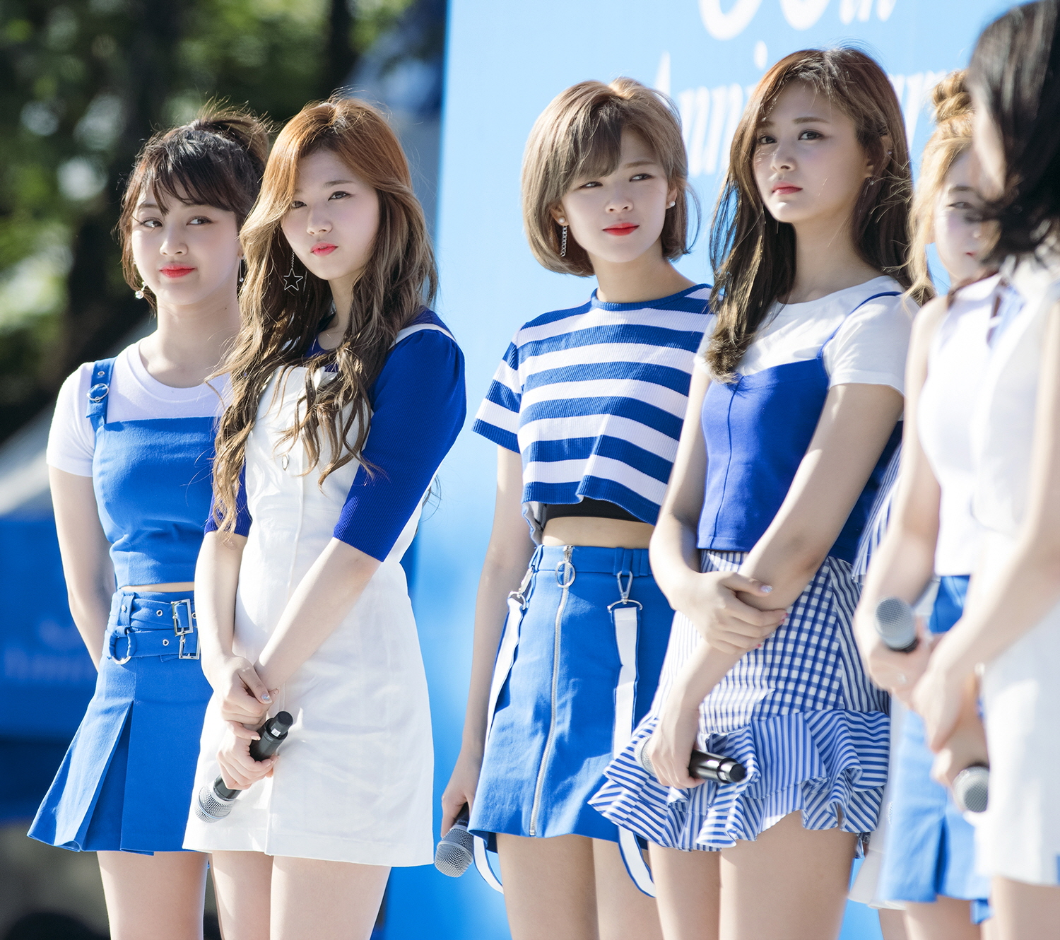 Twice in an event for Pocari Sweat in May 2017