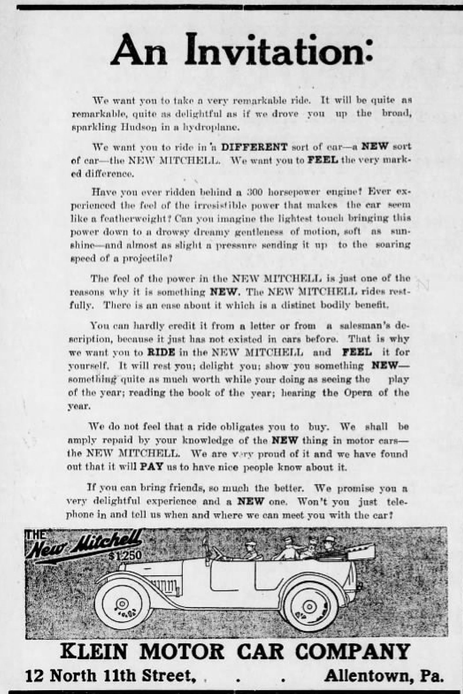 File1915 klein motor auto company newspaper ad allentown pag file1915 klein motor auto company newspaper ad allentown pag solutioingenieria Gallery