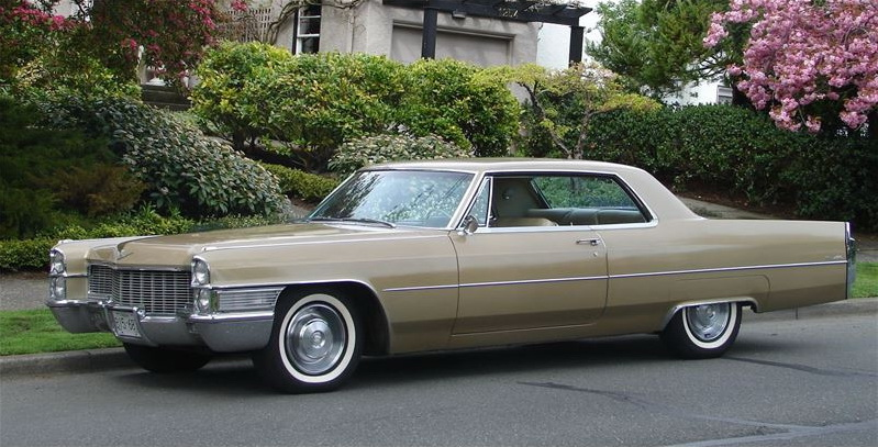 file 1965 cadillac coupe wikimedia commons. Cars Review. Best American Auto & Cars Review